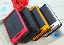 Universal 50000mAh Solar Panel 2 USB Power Bank External Backup Battery Charger