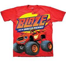 New BLAZE AND THE MONSTER MACHINES YOUTH KIDS T SHIRT