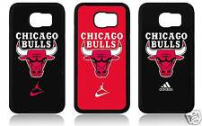 BULLS SAMSUNG S6 - S6 EDGE COVER CASE CARCASA FUNDA CHICAGO JORDAN N 23