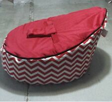 Red/Bule/Black Baby infant Bean Bags Snuggle seat bed 2 upper layer No Filling