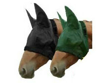 Weaver Horse Fly Masks with Ears Small Size for 300 to 500 lbs Super Sale Black