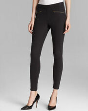 Hue Women's Black Original Denim Moto Leggings
