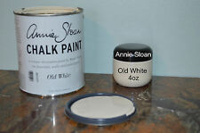Free wax BUY any 2--- Annie Sloan Chalk Paint - OLD WHITE-Vintage Shabby Chic
