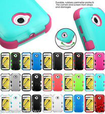 for LG Tuff Hybrid Tough Impact Protector Case Cell Phone Box Cover Accessory