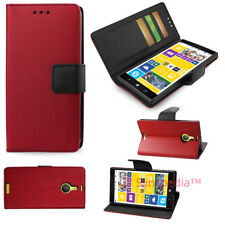 Wallet Case for Nokia Lumia 1520 - Leather 3 in 1 Kickstand Stand - 5 Colors USA