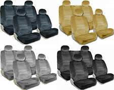 PREMIUM Full Set Airbag Safe 8mm Thick Quality Double Stitched Seat Covers 8D