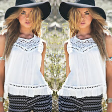 2015 Fashion Womens Summer Vest Top Sleeveless Blouse Casual Tank Tops T-Shirt