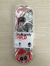 2015 In Box Supreme Skullcandy Headphones INK'D IN-EAR Earbuds Earphones no MIC