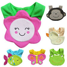 Cotton Animals Saliva Towel waterproof Infant Bibs Kids Boy Girl Baby Lunch Bibs