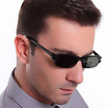 TR90 Mens Eyeglasses Frames with Magnetic Polarized Clip on Driving Sunshades