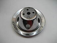 #5 CHEVY SMALL BOLT PATTERN SINGLE GROOVE WATER PUMP PULLEY STEEL 7 INCH 2.75