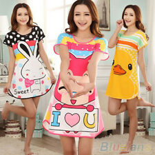 2015 Womens Ladies Floral Pyjamas Set Nightwear Robe Sleepwear Sleepshirt 12-20
