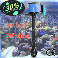 aquarium powerhead pompe filtre à eau 3 en 1 submersible tropical marine 8W/14W