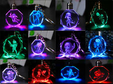 HOT League Of Legends  ALL-Star -AD/ADC LED Multicolor Octagon Crystal keychain