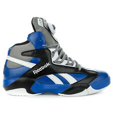 Reebok Classic Shaq Attaq Pump Team Dark Royal/Black Shoes M43365 NEW!