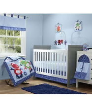 "Babyboom ""Baby Robots"" 10-Piece Bedding Set"
