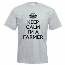 KEEP CALM I'M A FARMER - Farming / Agriculture / Farm / Fun Themed Mens T-Shirt