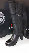 Blondo Women's Phebbe Black Waterproof Leather Fur Lined Boots size 5-11/Wide