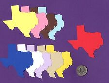 """Texas Die Cuts - 3"""" x 3-1/8"""" Any Color(s)- 5 pcs. or 10 pcs - Also other sizes"""
