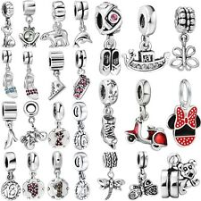 New Arrival Brand 925 Sterling Silver Bead Charms Fit European Bracelet Necklace