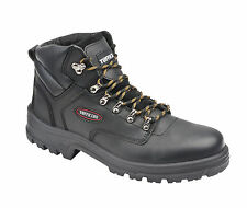 Tuffking 7121 S3 Black Steel Toe Cap Hiker Style Safety Boots Work Boot PPE BNIB