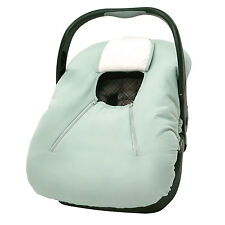 Infant Car Seat Carrier Cover or Bunting Bag for Baby Sage Microfiber
