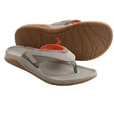 Simms Fly Fishing Atoll Unisex Sandals / Flip-Flops - Boulder Grey Color - NEW!