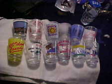SHOT GLASSES  Lot of 12 US Cities