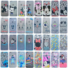 New Disney Cartoon Minnie Mickey TPU Cover Case For iPhone 5 S 6 4.7'' 6+