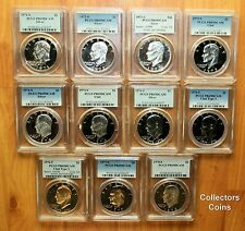 1971-S to 1978-S $1 Eisenhower Dollar PCGS DCAM69 11 Coin Proof (5 Silver) Set