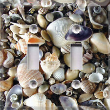 Seashells Beach~Home Decor~Light Switch Cover~Choose Your Plate~