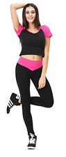 Women Soft YOGA Gym Exercise Fitness Running Sport Athletic Pants Sweatshirt new