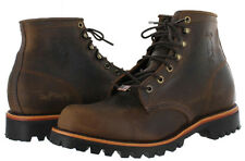 "Chippewa Apache Lace Up Hand Crafted 6"" Work Boots 20080"