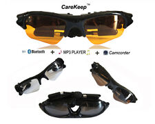 8GB Hidden DV R Camera Video + Mp3 Player Sunglasses + Stereo bluetooth headset