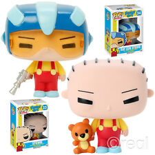 New Family Guy Ray Gun & Normal Stewie Pop! Vinyl Action Figure Funko Official
