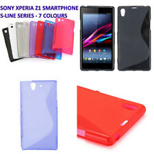 SONY EXPERIA Z1 SMARTPHONE C6906 S LINE SILICONE GEL PHONE CASE COVER XPERIA Z1