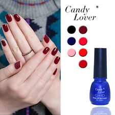 Candy Lover 8ML UV Gel Nail Polish Soak Off Glitter Color Lacquer Tips 151-200
