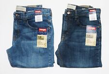 New Wrangler Premium Slim Straight Jeans Men's Sizes Two Colors Available
