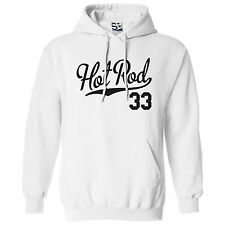 Hot Rod 33 HOODIE - Hooded 1933 Custom Roadster Coupe Car Sweatshirt  All Colors