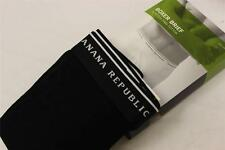 Banana Republic Men's Stretch Pima Cotton Black Signature Boxer Brief