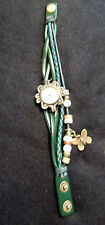 4 Beautiful Womens&Girls Butterfly Bracelet&Wrist Watches Several Colors