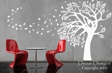 Tree in the Wind Vinyl Wall Decal Sticker