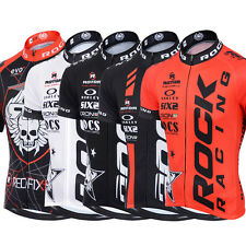 Outdoor Mens Riding Short Sleeve Bike Bicycle Team ROCK Racing Jersey T-shirt