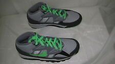 New! Nike Boys Youth Air Trainer SC (GS) Shoes 579806-033 Black/ Green   10D