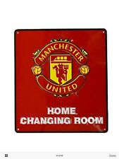 FOOTBALL HOME CHANGING ROOM  Metal Door Sign