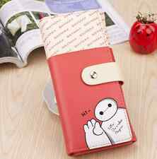 Hot!!!Cute New The Big Hero 6 Baymax Wallet Card Holder PU Leather Purse