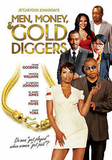 """Je'Caryous Johnson's """"Men, Money and Gold Diggers"""" (DVD, 2014, Widescreen)"""