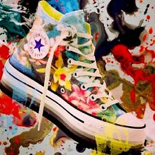 CONVERSE ALL HIGH STAR SCARPE SHOES EU 36 37 38 39 40 41 41,5  platform limited