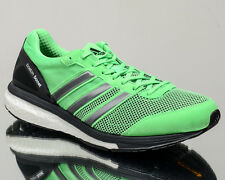 adidas adizero Boston Boost 5 V men running run shoes NEW green