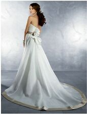 SALE! ALFRED ANGELO, BRAND NEW WEDDING DRESS, STYLE 2178, SIZE 10, IVORY/CAFE